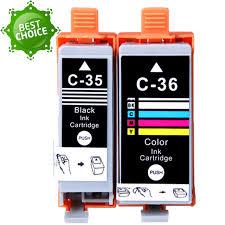 Nuevo Cartucho de tinta para Canon 35 36 PG 35 CLI 36 para IP100 impresora de inyección de tinta venta caliente del envío gratis en Cartuchos de Tinta - Modelo compatible: para Canon PG-35 CLI-36 - Impresora compatible: para Canon ip100 Capacidad: BK-9.5ml COLOR-15ml