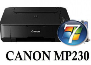 Canon MP230 Driver Windows 7 32-64bit Descarga Gratis