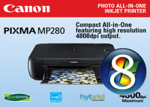 Canon MP280 Driver Windows 8 32-64 bit Descargar Gratis
