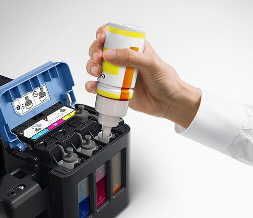 Asi de sencillo es Cargar Tinta Impresor Canon G3100