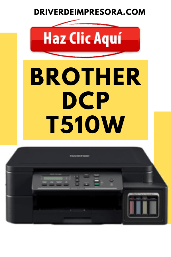 Controladores de Impresora Brother DCP T510w - Driver Brother DCP-T510w