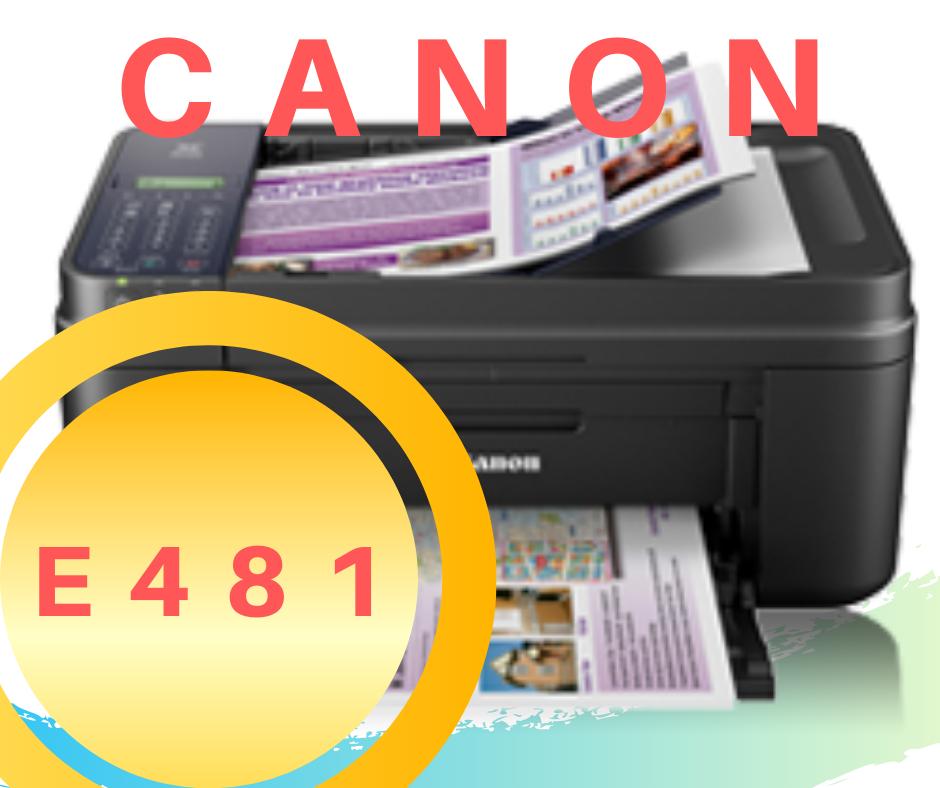 Descargar Canon E481 Driver de Impresora Gratis
