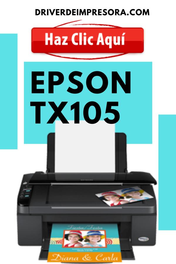Descargar Controladores de Impresora Epson TX105