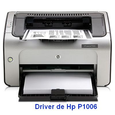 Descargar programa para instalar el Driver De Impresora Hp Laserjet P1006
