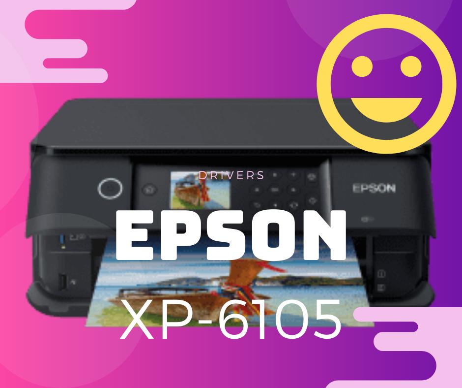 Aqui puedes Descargar programa Driver para Instalar Impresora Epson XP-6105. Instalar controlador gratis