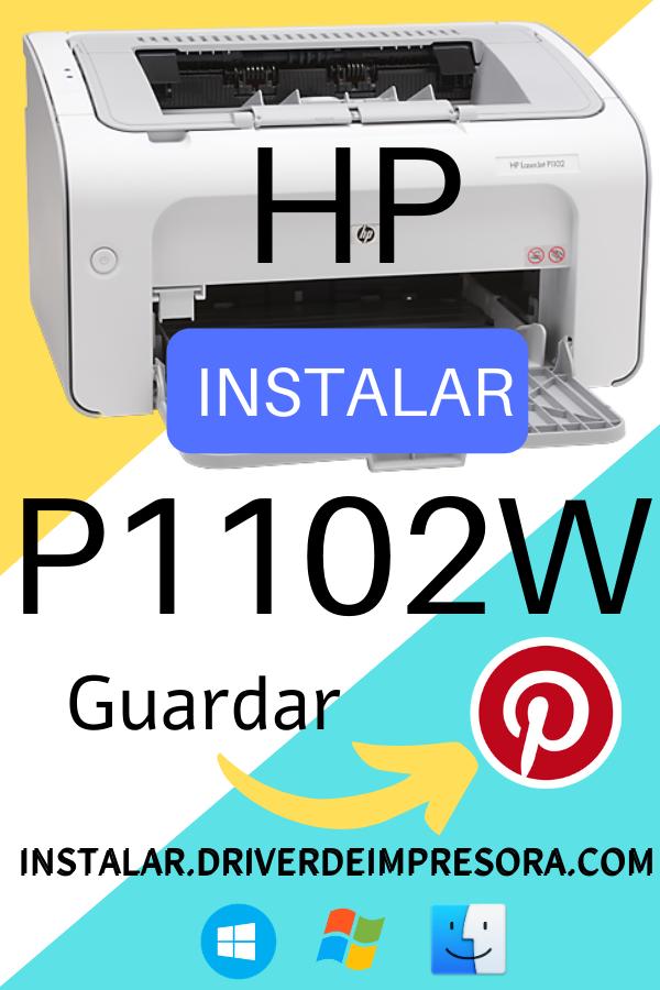 Descargar Instalador Driver Hp P1102w  Laserjet