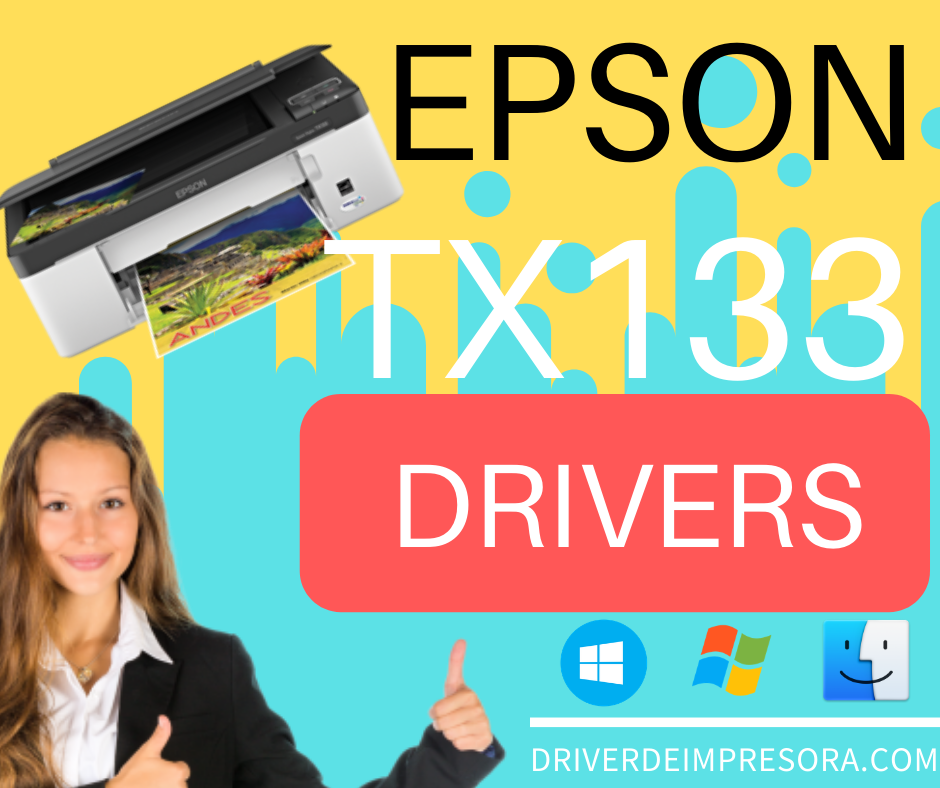 Descargar programa Instalador Epson TX135 Driver en windows 10