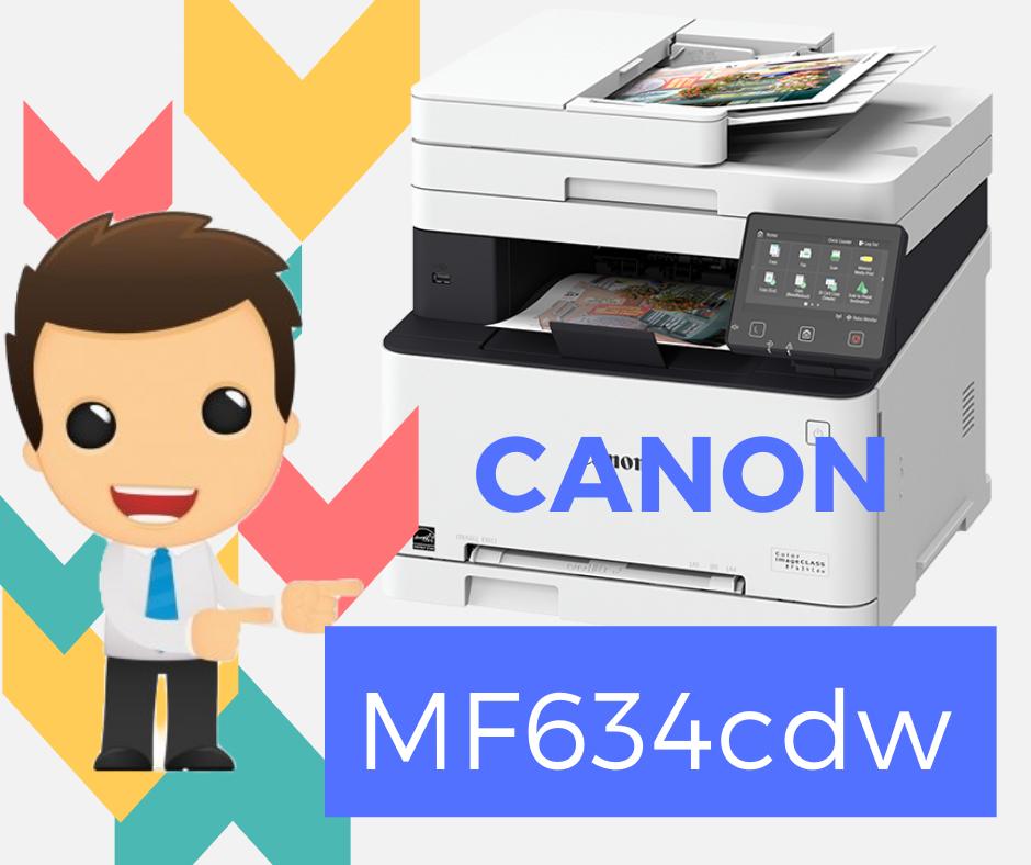 Descargar Instalador de Impresora Canon Imageclass MF634cdw Driver Descargar Gratis