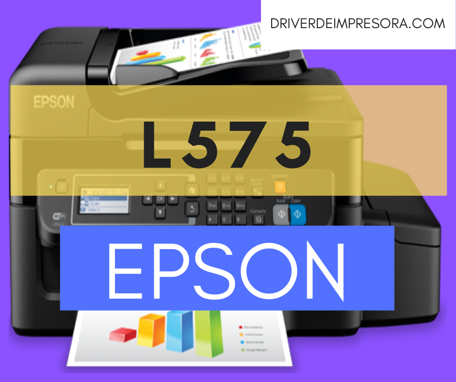 Descargar Programa de Instalacion Epson L575 Driver de Impresora