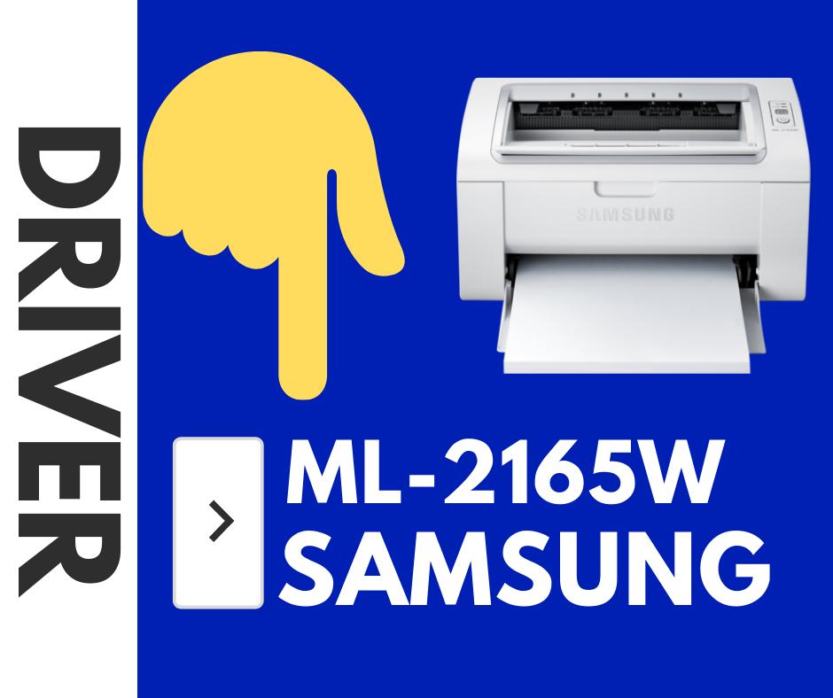 Samsung ML-2165W Driver. Controladores Impresora Gratis