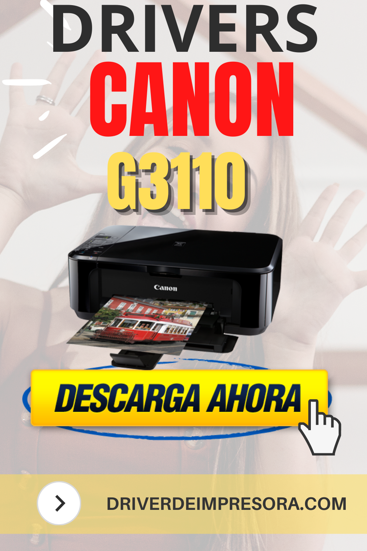Drivers Canon G3110 Windows 8