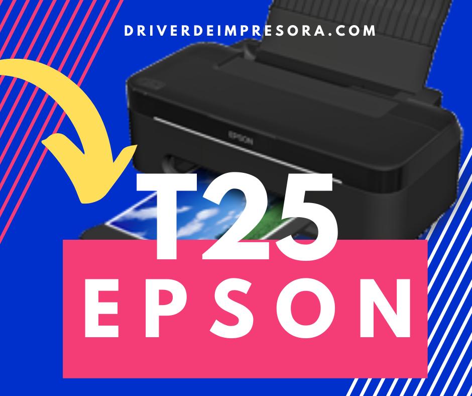 Driver de Epson Stylus t25