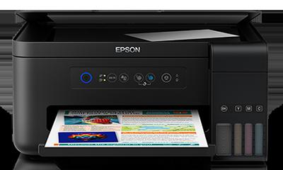 Impresora A Color Inalámbrica Todo En Uno Epson L4150 (Negro)