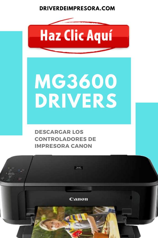 Driver Canon Pixma Mg3600