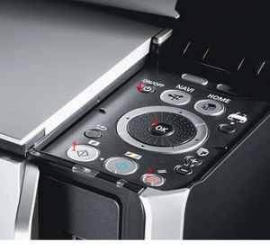 Panel Canon PIXMA MP520 Driver de Impresor