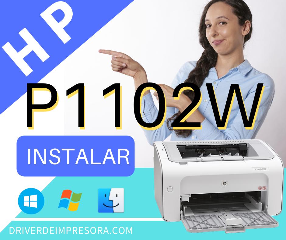 Pasos para Instalar Impresora Hp Laserjet P1102w