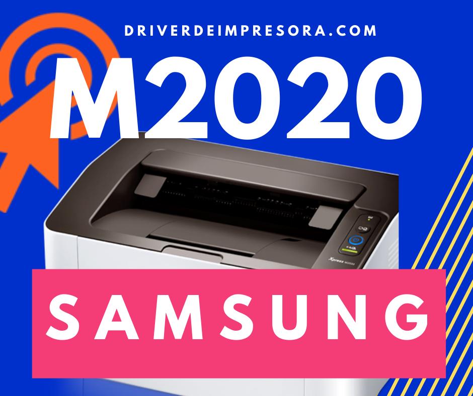 Programa de Instalacion Driver Samsung M2020