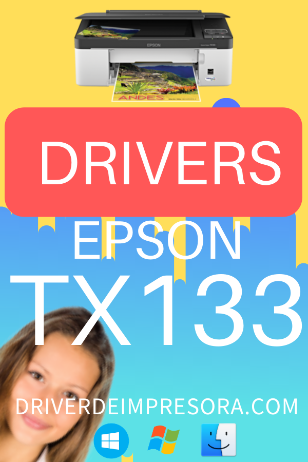 Descargar Drivers Epson Stylus TX135 para windows 10 mac