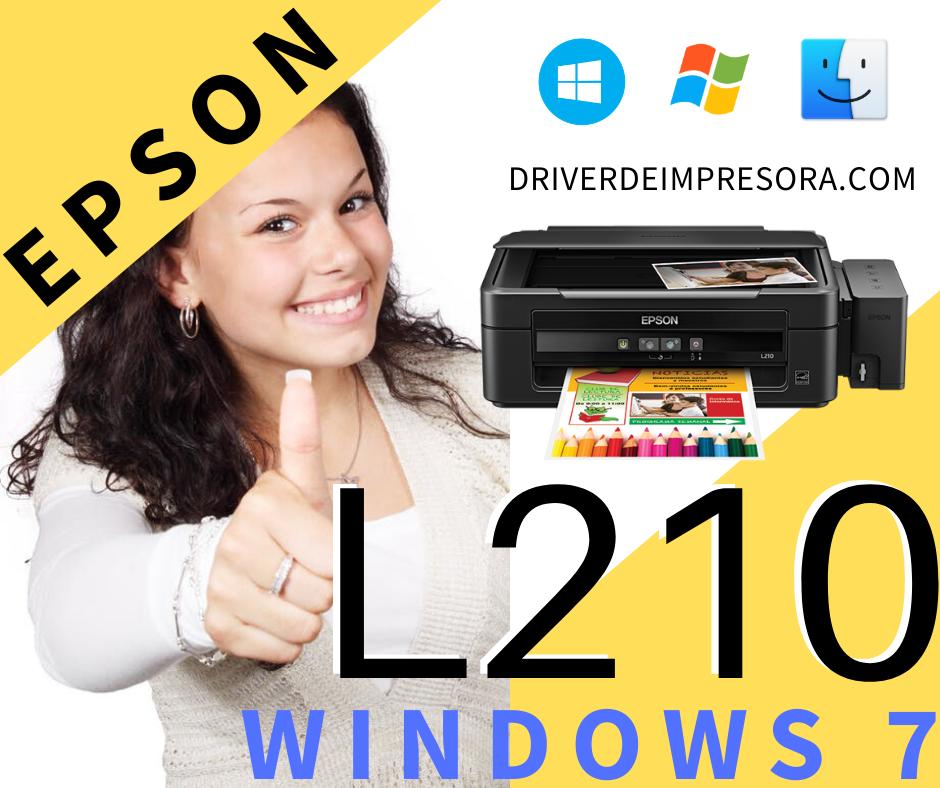 descargar el driver epson l210 para windows 7