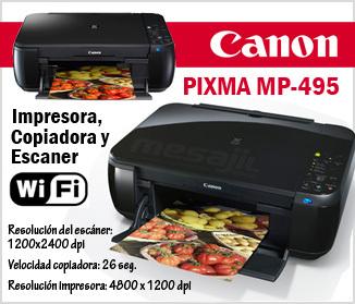 Impresor Canon Pixma Mp495