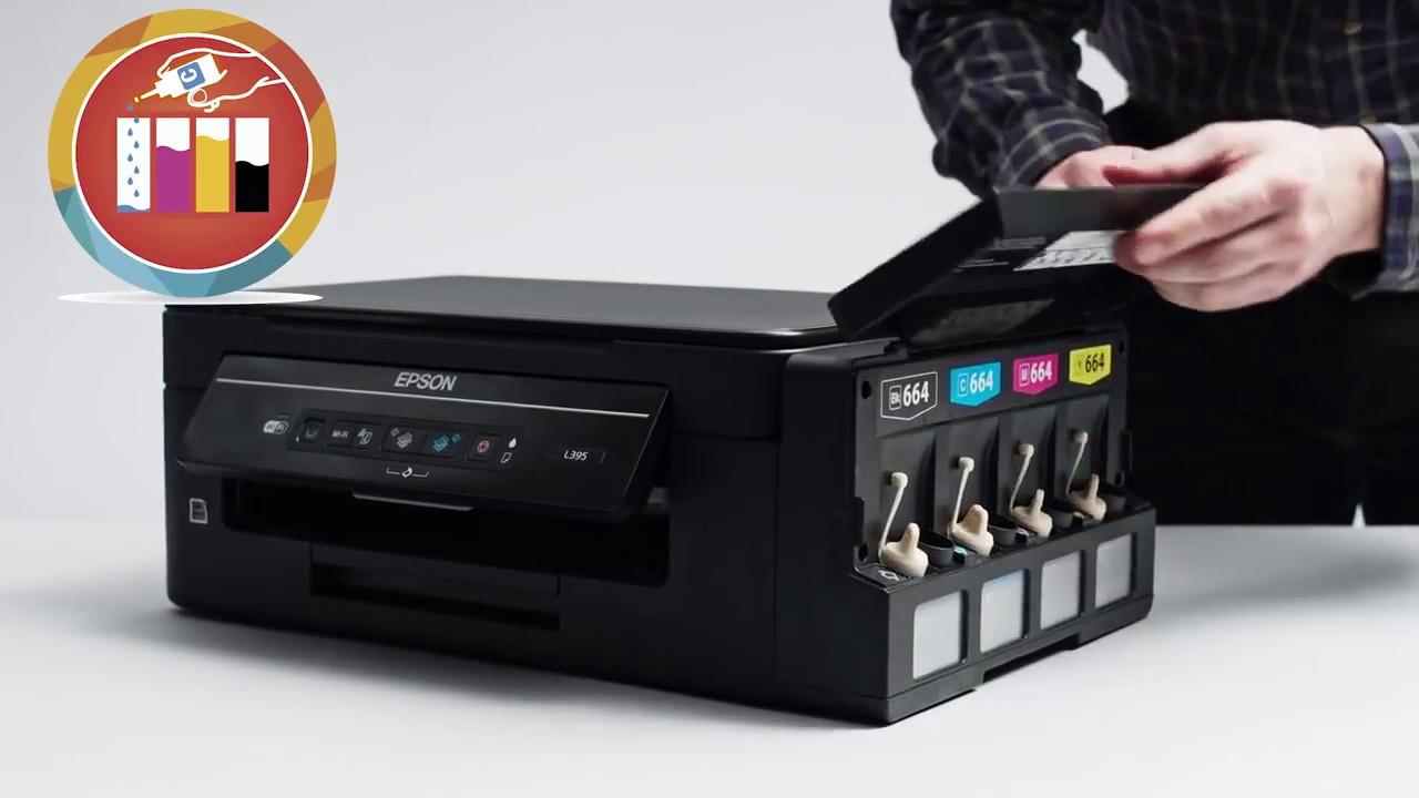 Drivers Epson L395 Gratis - Controladores de Impresora