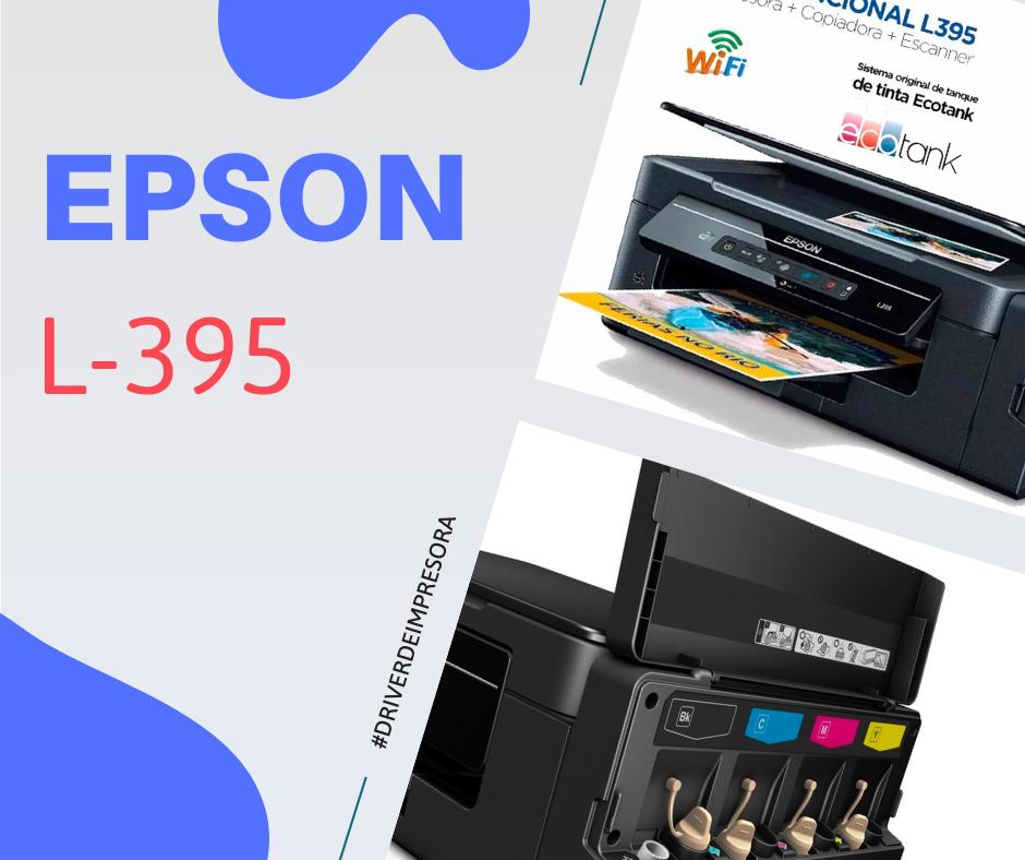 descargar epson l395 driver-controlador impresora gratis