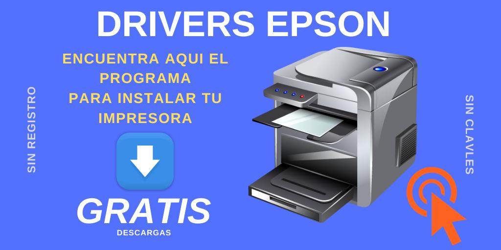 Descargar Instaladores Epson Drivers Gratis