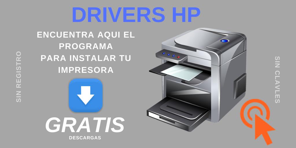 descargar instaladores hp drivers gratis